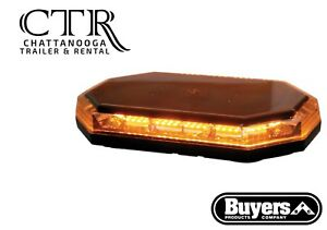 Buyers Products 8891060 15 Inch Octagonal Amber Led Mini Light Bar Series