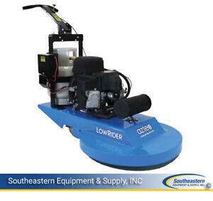 New Aztec Lowrider 24 Propane Burnisher W Dust Control