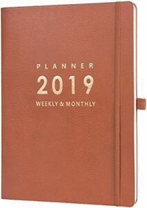 2019 Monthly Planner Planificador Organizer Law Of Attraction Premium 8 5 X 11