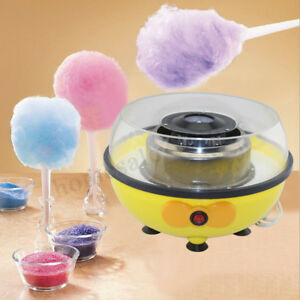 220v Cotton Candy Maker Machine Floss Commercial Carnival Party Fluffy Sugar