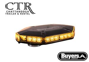 Buyers Products 8891100 17 Inch Amber Octagonal 30 Led Mini Light Bar