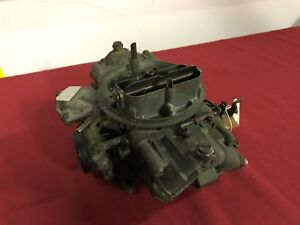 Original 1969 70 Ford Mustang Shelby Gt500 428cj Holley Carburetor C9af 9510 M