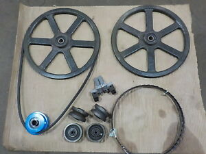 Bands Saw Mill Bandsawmill Parts Build Your Own Sawmill Wheels guides blade Etc