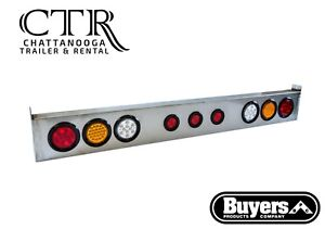 Buyers Products 8891166 66 Inch Round Led Light Bar Kit With Reverse Lights