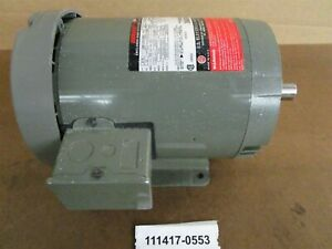 Unimount 125 3 4 Hp Low Rpm Motor 1150 Rpm 143tc Frame 208 230 460 3 60