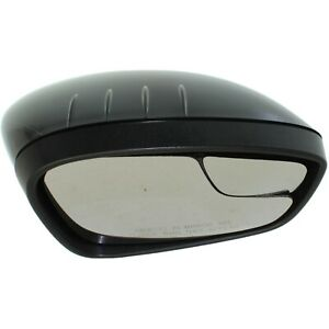 Power Mirror For 2011 2018 Ford Fiesta Right Side Manual Fold Paintable
