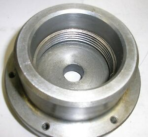 Hardinge Back Plate For Threaded Nose Lathe 4 Od
