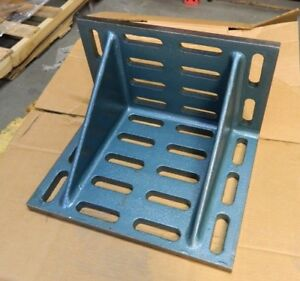 Interstate Cast Iron Machined Angle Plate 20 Wide 12 Deep 16 High 67069070