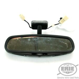 Volvo Oem Rear View Mirror W auto Dimming Fits C70 98 04 Convertible
