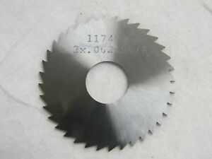 Professional 36 Tooth Slitting And Slotting Saw 2 Diam X 1 16 Blade 03515103