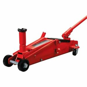 Torin Big Red T83006 3 Ton Suv Service Jack Aluminum Low Profile Quick Pump Lift