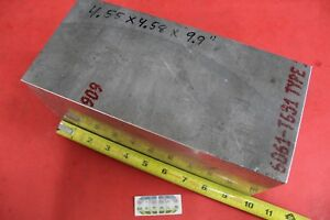 4 55 x 4 58 Aluminum 6061 Rectangle Bar 9 9 Long Solid T651 Bar Stock