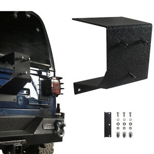 Textured Black Spare Tire Carrier Wheel Mount Holder For Jeep Wrangler Tj 97 06
