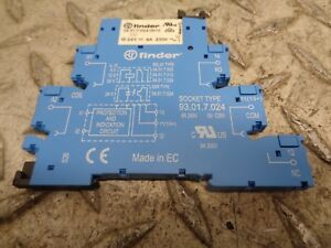 Finder Relay 34 51 7 024 0010 Socket Type 93 01 7 024