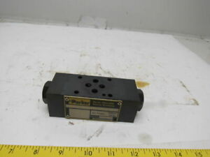 Parker Cpom2 Aav 56 Pilot Operated Hydraulic Check Valve