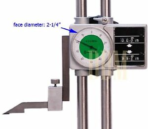 12 Digit Readout Double Beam Dial Height Gage 4300 0010