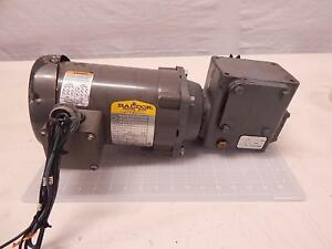 Baldor Vm3542 3 4 Hp Ac Industrial Motor Frame 56c With Gear Reducer
