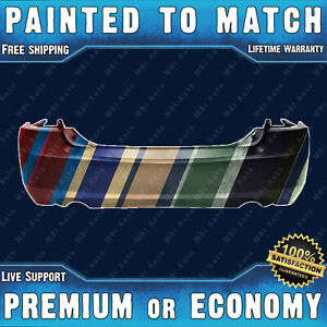 New Painted To Match Rear Bumper For 2006 2009 Ford Fusion 3 0l W Dual Exhaust