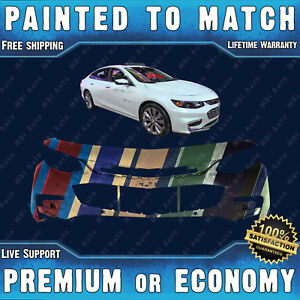Painted To Match Front Bumper For 2016 2017 2018 Chevy Malibu W Park