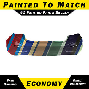 New Painted To Match Rear Bumper Cover For 2016 2018 Chevrolet Chevy Cruze Sedan