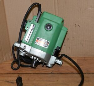 Hitachi M12v 1 2 Plunge Router 3 1 4 Hp No Base Heavy Duty Woodworking Tool