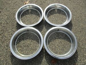 1971 To 1980 Chevy Camaro 14 Trim Rings Beauty Rings Set Of 4 Metal