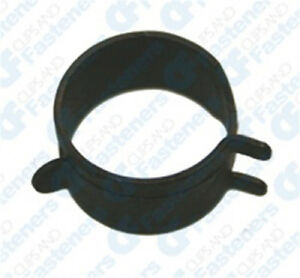 100 3 4 Spring Action Hose Clamps Black