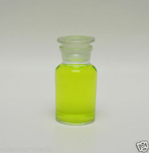 6 Reagent Bottles Jars 125ml 125 Ml Wide Mouth Clear W Glass Stopper Lab New
