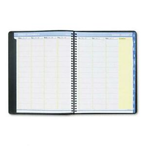 At a glance Quicknotes Weekly monthly Appointment Book 8 1 4x10 7 8 Black