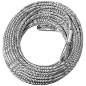 Come along Winch Replacement Cable 3 8 X 100 14 400 Lbs Strength