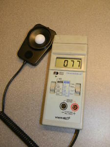 Vwr Light Meter With Outputs 62344 944