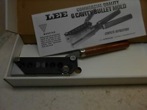 lee 6 cavity bullet mold for 38-SP 38-S&W 38 colt new police 357-mag 358-158-RF