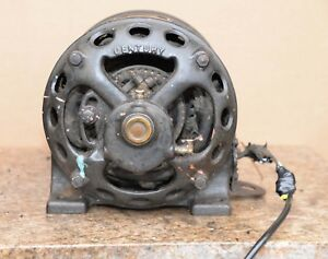 Industrial 1 2 Hp Repulsion Induction Start Century Electric Motor Steampunk Old
