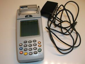 Verifone Nurit 8000s Credit Card Scanner Power Tested