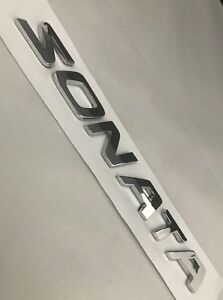 Nameplate Fit Hyundai Sonata Trunk Logo Badge Emblem Letters 2007 2008 2009 2017