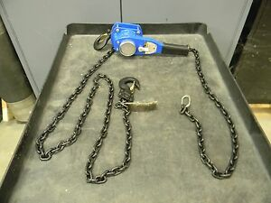 3 4 ton Lever Chain Hoist W Overload Protection 10 Lift lw75 3