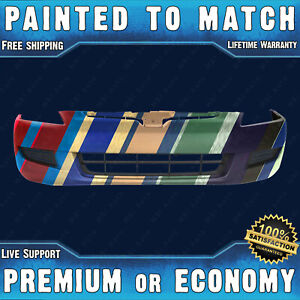 New Painted To Match Front Bumper For 2003 2004 2005 Honda Accord Coupe 2 door