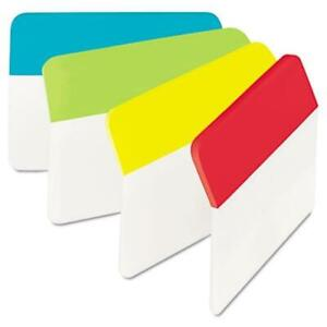 Sticky Note 686a alyr Hanging File Tabs 2 X 1 5 Solid Angled Assorted Primary