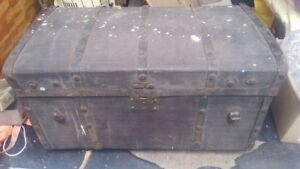 Vintage Auto Trunk All Original Packard Ford Chevy Olds Arrow Nash Buick