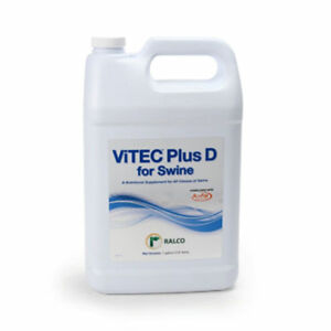 Ralco Vitec D For Swine Nutrients During Times Of Stress Drinking Water Gallon