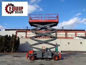 Skyjack Sj9250 Rough Terrain 4x4 Scissor Aerial Man Boom Lift 50ft Height