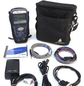 Jdsu Acterna Hst 3000 Sim T1 Ethernet Optical Tester W Soft Case