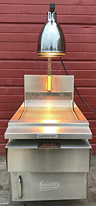 Keating Keep Krisp 14 Salt Bagging Prep Station Food Warmer 2lcf Heat Lamps
