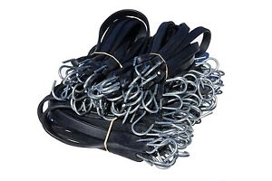 Rubber Tarp Straps With Hooks Bungee Cords 50 Assorted Length New Freeship