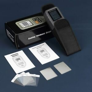 Tc100 Digital Coating Thickness Tester Gauge 0 1300um Mil Paint Metal Meter New