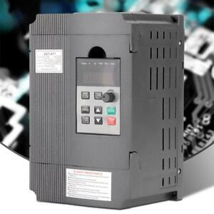 1 5kw 3hp Vfd 8a Single Phase Motor Speed Variable Frequency Drive Inverter Gbt