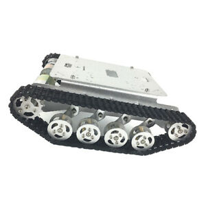 Ts100 Robot Tank Chassis Track Arduino Tank Chassis Diy With 2 Motor