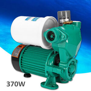 370w Automatic Constant Pressure Garden Irrigation Water Pump Self Priming 220v