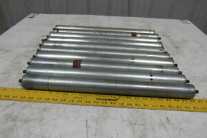 21 1 2 Bf Gravity Conveyor Roller 1 9 7 16 Hex Axle Lot Of 10