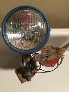 Vintage 9n Ford Jubilee Tractor Rear Light Blue